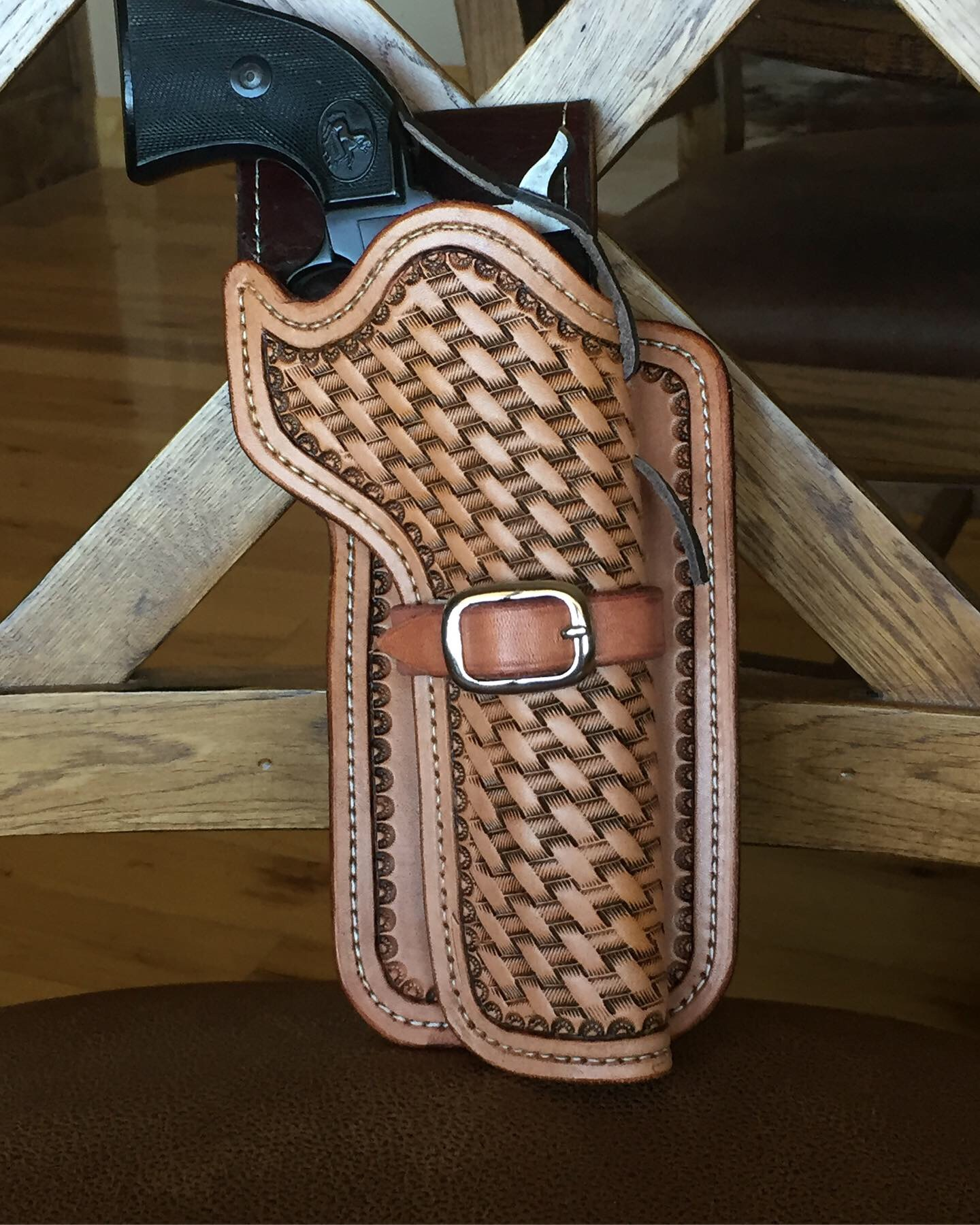 Skirted Leather Holster
