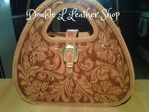 Custom Leather Purse