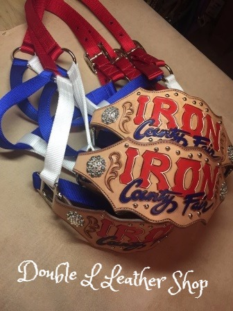 Custom Leather halters