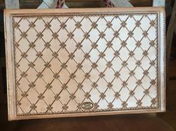 Leather Briefcase Backside