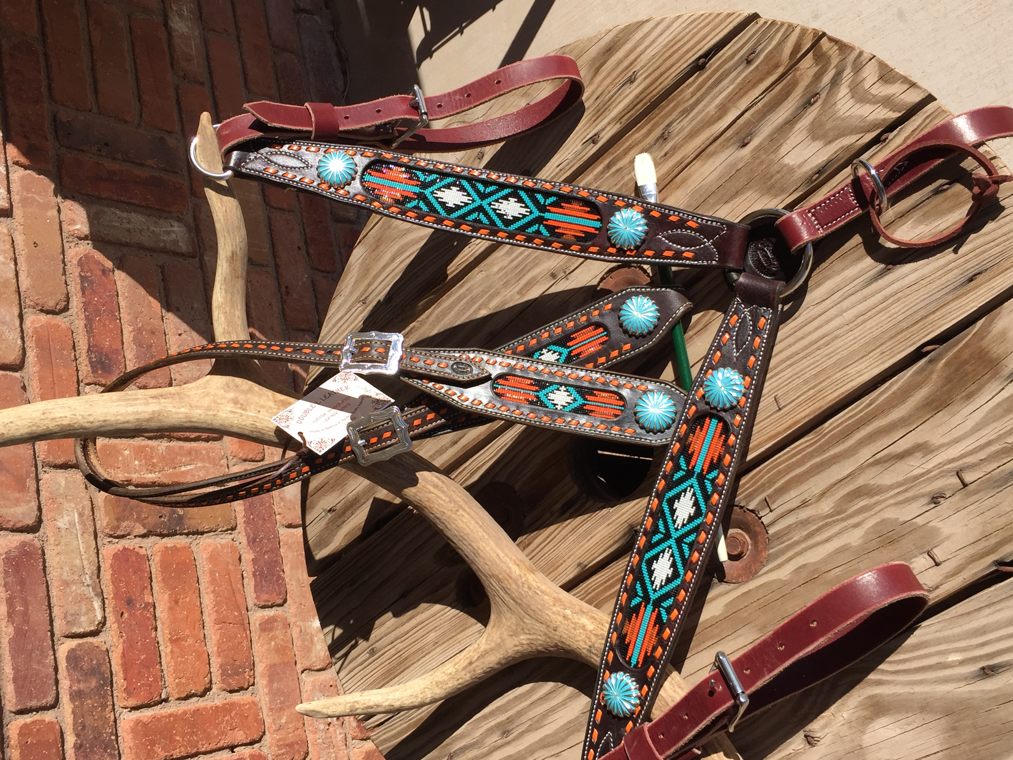 Beaded Tack Set