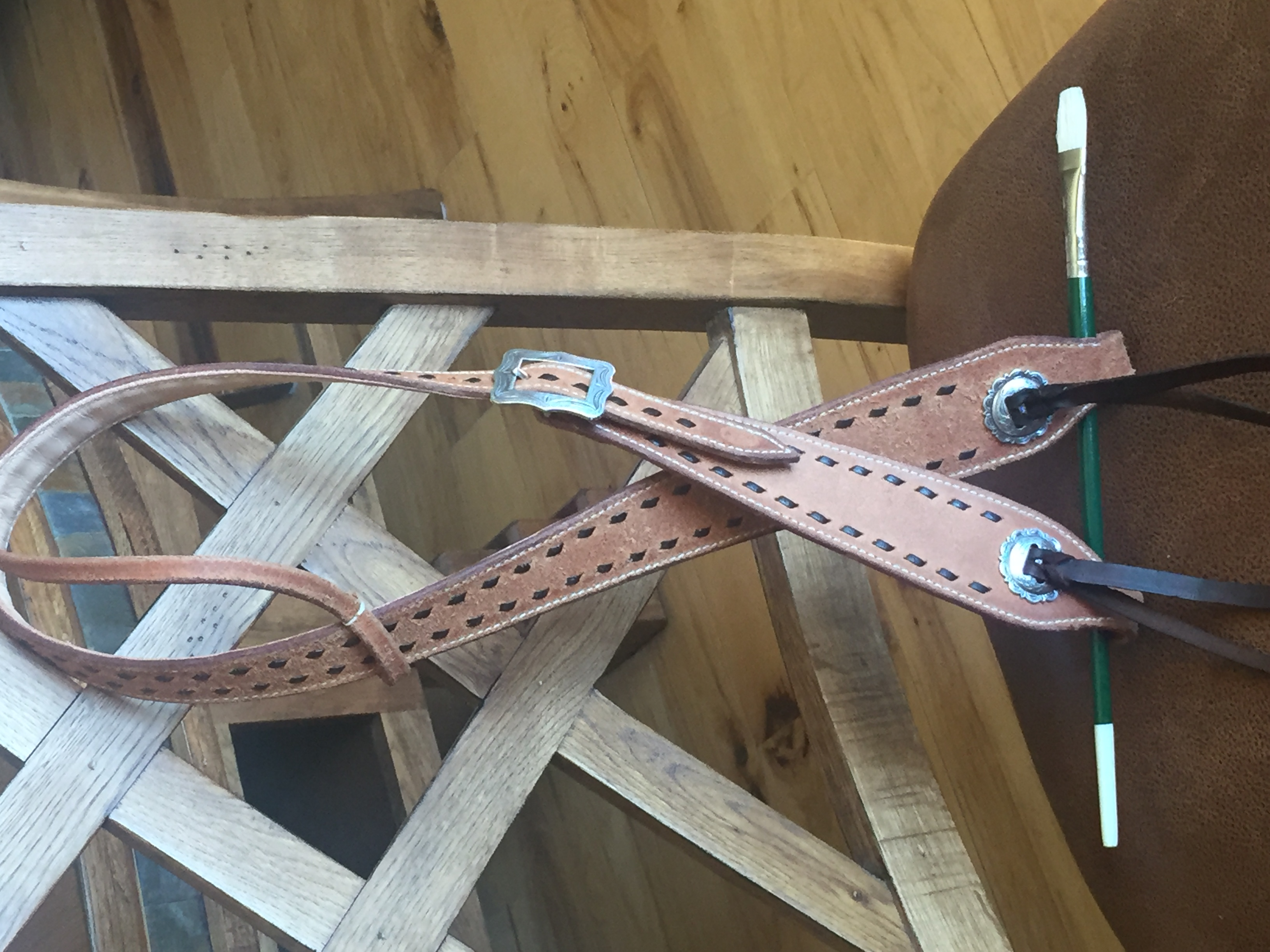 Cowboy style headstall