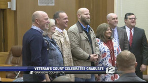 Texoma Veterans Court Celebrates Fifth Graduate