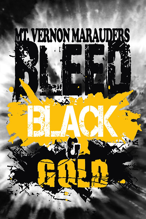 Bleed Black & Gold Rally Towel