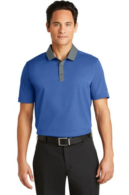 NEW Nike Golf Dri-FIT Heather Pique Modern Fit Polo. 779798
