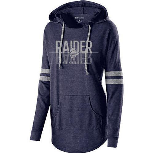 Raider Basketball Ladies LowKey Pullover Hood