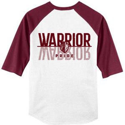 Warrior Pride Baseball Raglan Tee