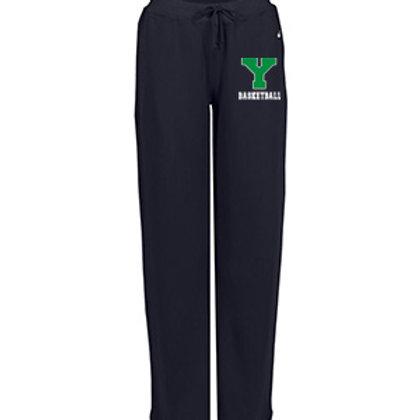 Y Basektball Badger Ladies Pocket Fleece Pant