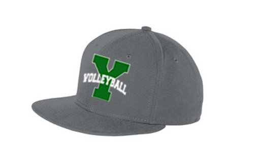 Yorktown Volleyball Snapback Flat Bill Cap