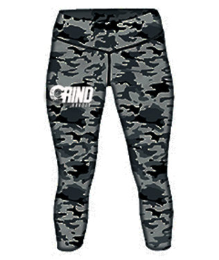 Grind Harder Camo Tights