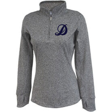 Ladies Space Dye Pullover
