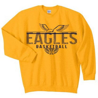 Eagles Basketball Crewneck Sweatshirt