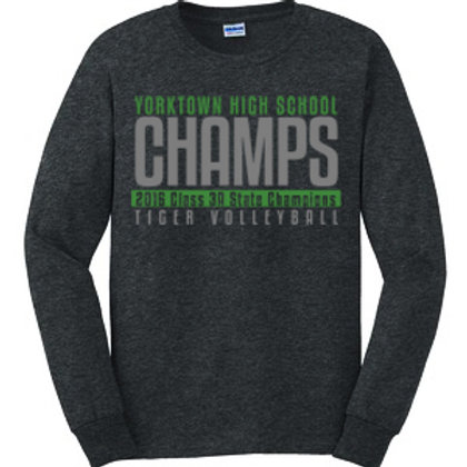 Volleyball State Champions Long Sleeve Tee