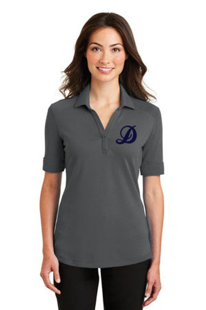 Ladies Interlock Silk Touch Performace Polo