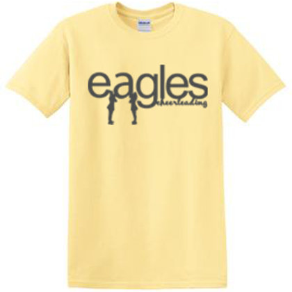Eagles Cheerleading Short Sleeve Tee