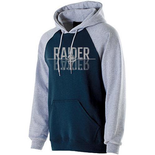 Raider Basketball Banner Hoodie