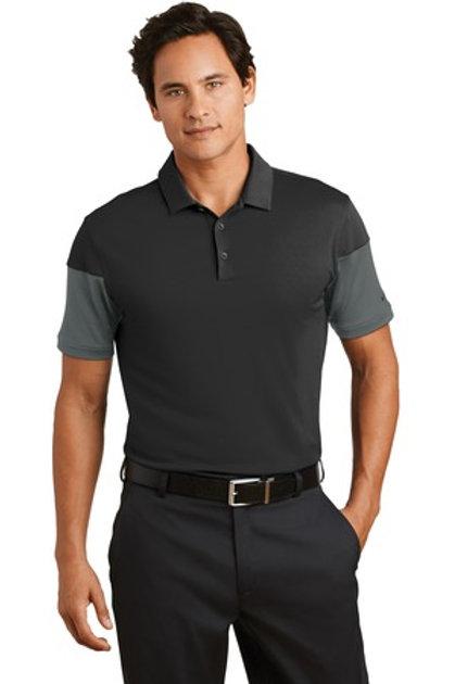 NEW Nike Golf Dri-FIT Sleeve Colorblock Modern Fit