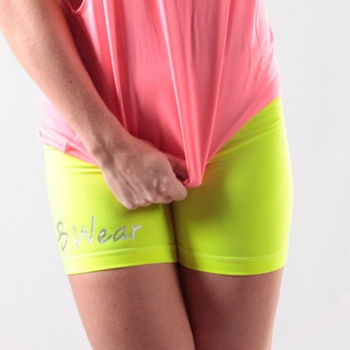 KB Wear Mid Waist Spandex Short