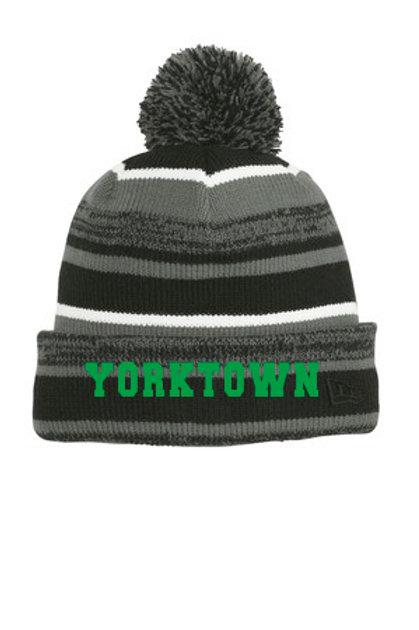 Yorktown Pom Beanie