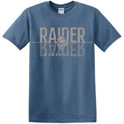 Raider Basketball Short Sleeve Tee