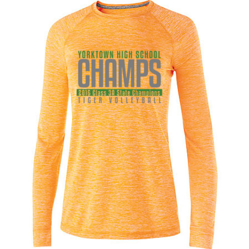 State Volleyball Electrify Long Sleeve Drifit Tee