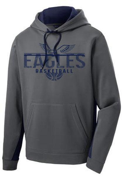 Eagles Basketball ColorBlock Drifit Hood