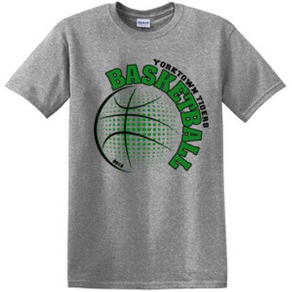 Yorktown Basketball Short Sleeve Tee