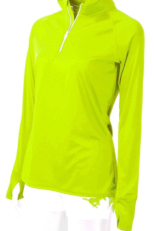 Ladies 4 Runner Drifit Pullover