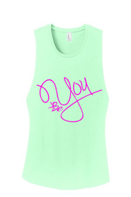 Be You Mint Muscle Tank