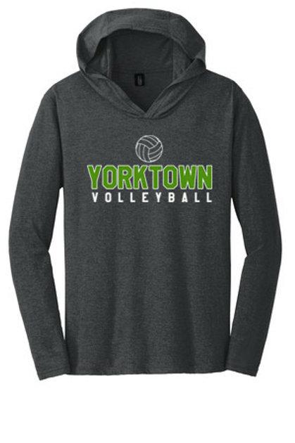 Yorktown Long Sleeve Hooded Tee