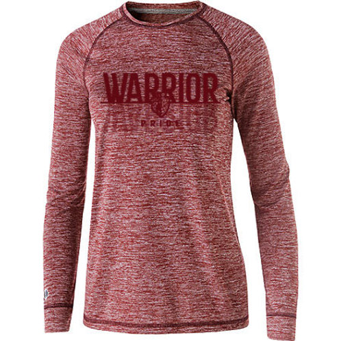 Warrior Pride Electrify Long Sleeve Drifit Tee