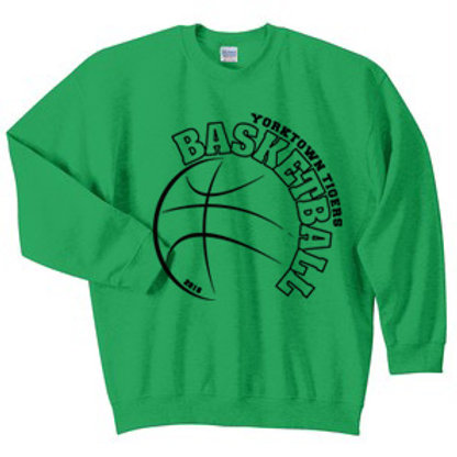 Yorktown Basketball Crewneck Sweatshirt