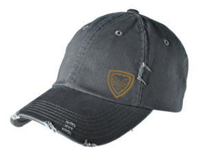 Shield Distressed Adjustable Cap