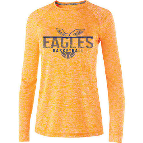 Eagles Basketball Electrify Long Sleeve Drifit Tee