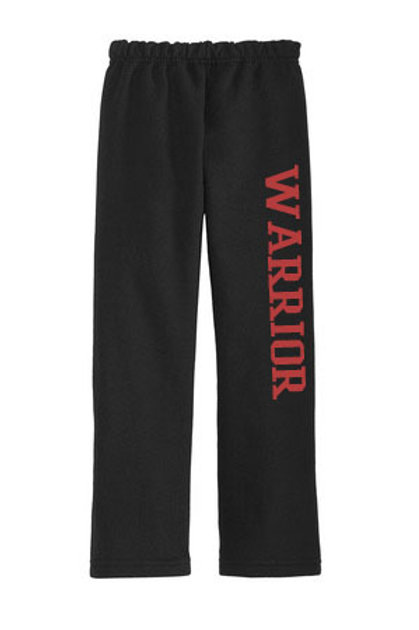 Warrior Open Bottom Sweatpant