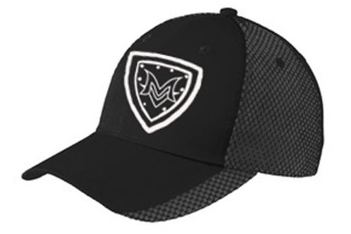 MV Black Mesh Cap