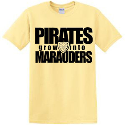 Grow Into Marauders Short Sleeve Tee