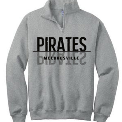 Pirates Quarter Zip Sweatshirt