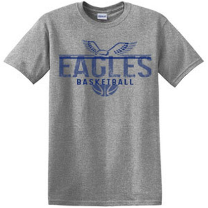 Eagles Basketball Short Sleeve Tee