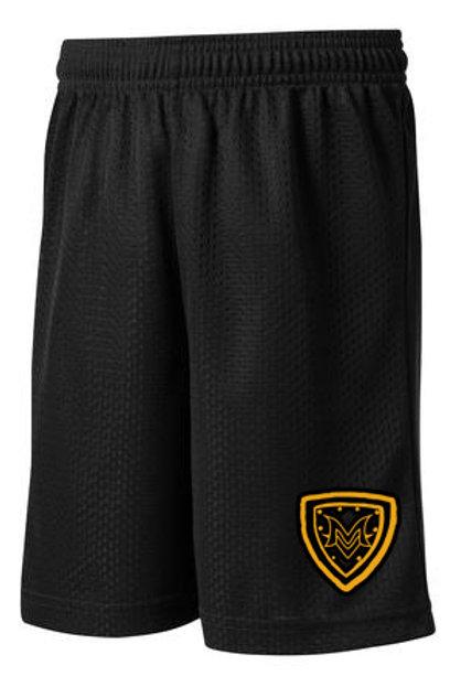 MV Shield Black Mesh Shorts