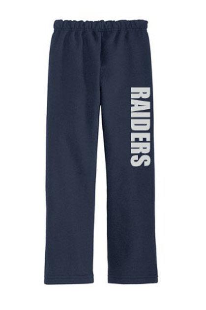 Raiders Open Bottom Pants