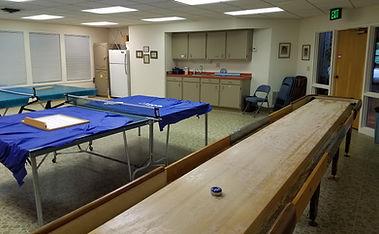 Klickitat Room for table Tennis and Shuffleboard