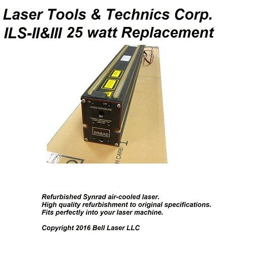 Replacement for LTT (LASER TOOLS AND TECHNICS CORP) INTELLIGENT LASER SYSTEM II