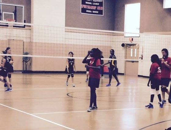 Middle School Volleyball Game