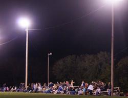Soccer Game under the lights