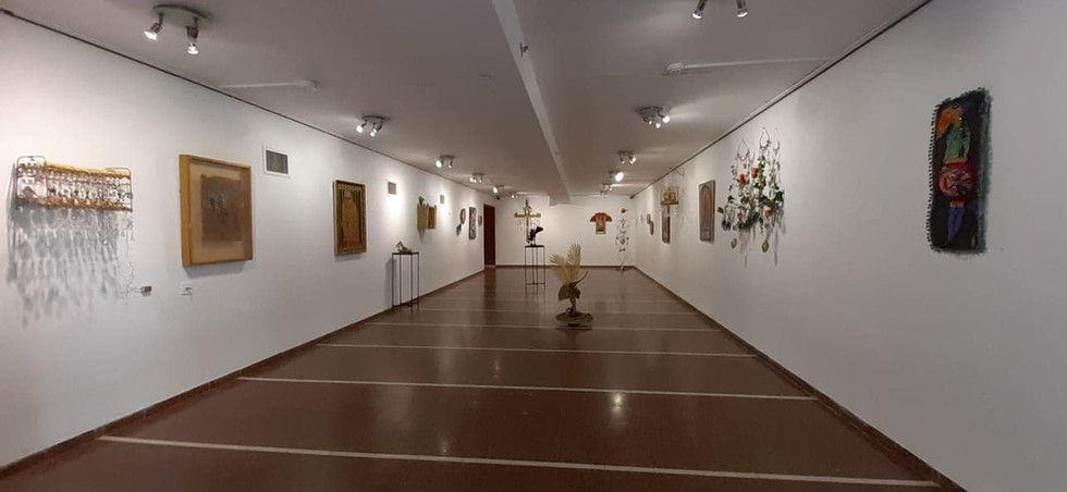 In the name of Gold, solo exhibition, Mishmar Hae'emek Gallery, 2019