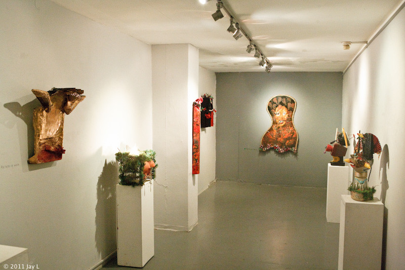 NEKEV  A, Solo Exhibition, Installation View, Beit Ha'omanim, Tel Aviv, 2011