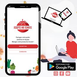 Application web & mobile Adopte ma tomat