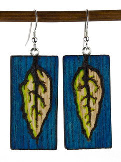 Painted Lichtenberg LEaf Earrings.jpg