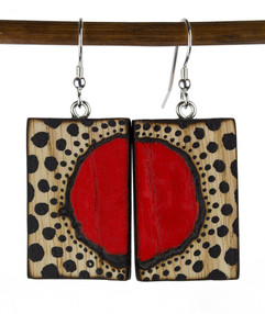 Red Circle Expanding Earrings.jpg